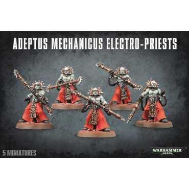 ADEPTUS MECHANICUS ELECTRO-PRIESTS (RELEASE 30/5)