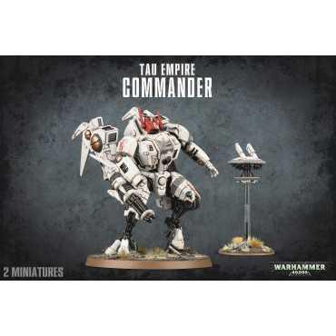 TAU COMMANDER/XV86 COLDSTAR BATTLESUIT