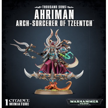 AHRIMAN, ARCH-SORCERER OF TZEENTCH