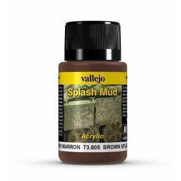 BROWN SPLASH MUD
