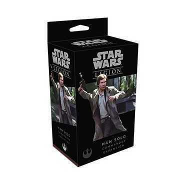 Star Wars Legion Han Solo Commander Exp.