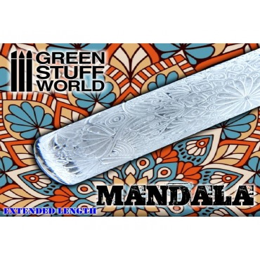 MANDALA ROLLING PIN