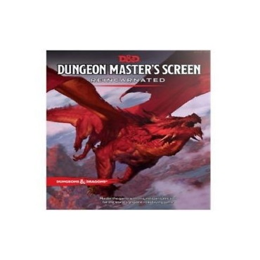 D&D 5th Ed. DM´S SCEEN REINCARNATED