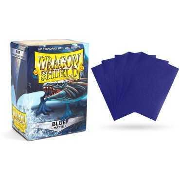 DRAGON SHIELD MATTE BLUE SLEEVES 100 PK