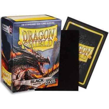 DRAGON SHIELD: BLACK MATTE NON GLARE 100PCT