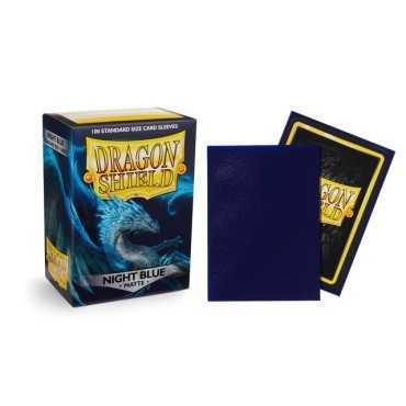 DRAGON SHIELD NIGHT BLUE MATTE 100 PCT