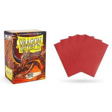 DRAGON SHIELD RED MATTE (100)