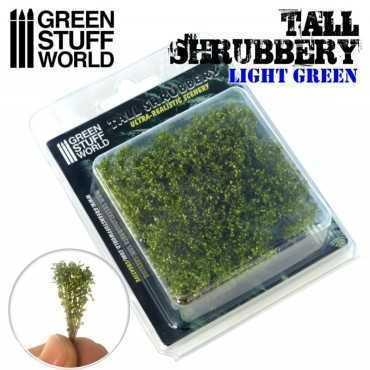 TALL SHRUBBERY LIGHT GREEN