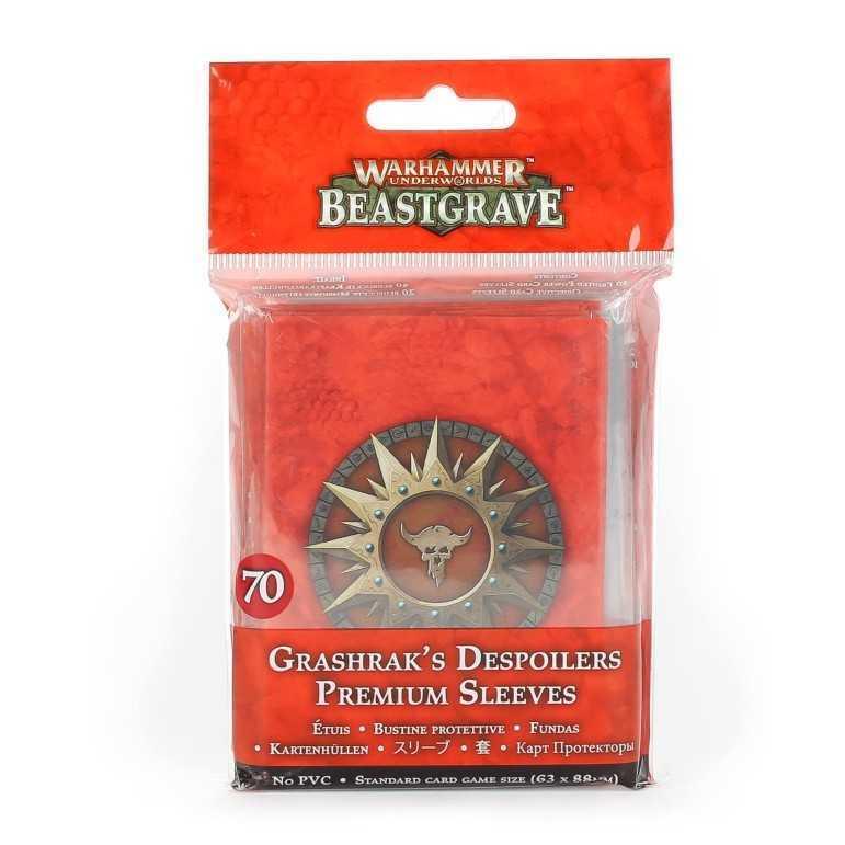 GRASHRAKS DESPOILERS PREMIUM SLEEVES