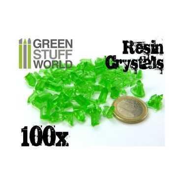 SMALL GREEN CRYSTALS